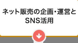 ネット販売の企画・運営とSNS活用