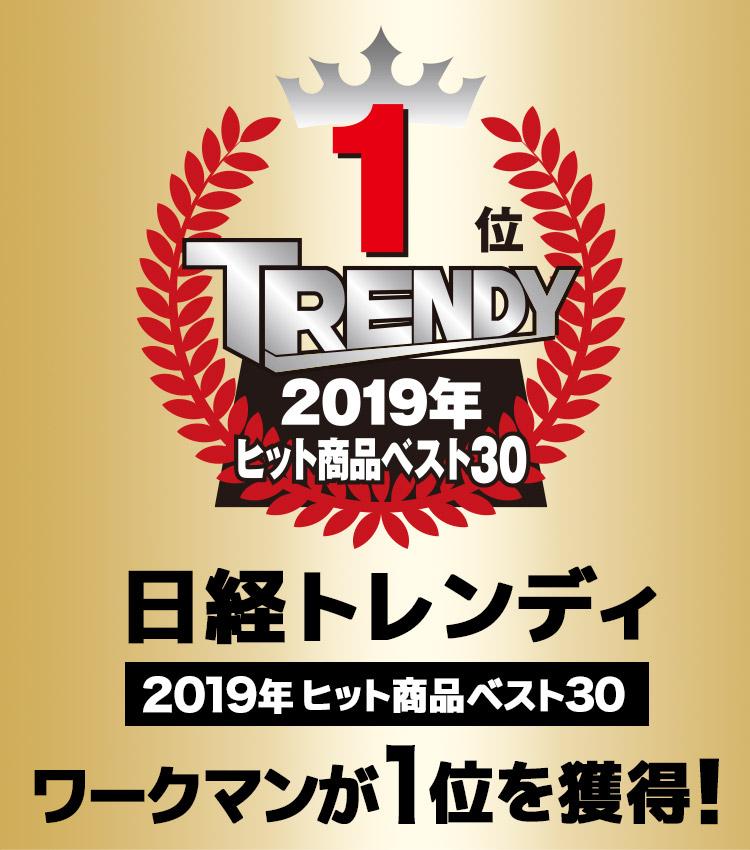 日経トレンディ「2019年ヒット商品ベスト30」でワークマンが1位を獲得!