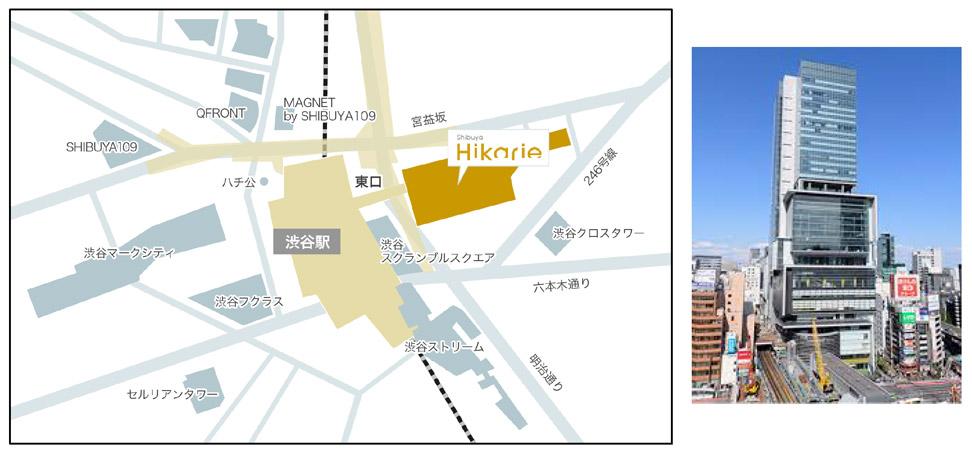 渋谷ヒカリエ地図