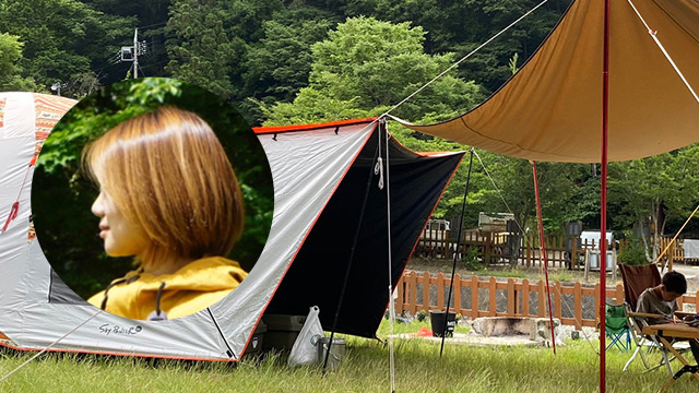 サリーさん ちょっとキャンプ行ってくる