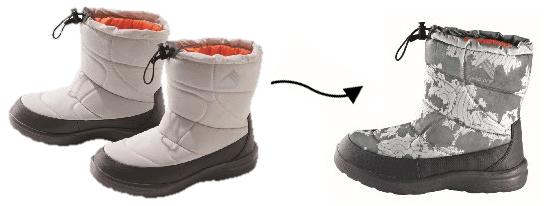 防寒ブーツ「ケベック」